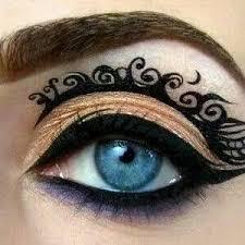 beautiful design steunk makeup steunk nails crazy eye makeup makeup eyes eye