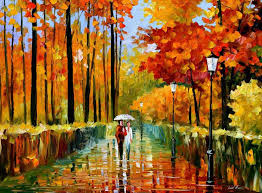painting for colorful oil paintings canvas fall rain abstract modern wall art home decor high quality handpainted in painting calligraphy from home