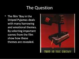 boy in the striped pyjamas synopsis and themes the question • the film boy in the striped pyjamas