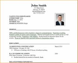 application resume sample the standard resume format for a winning applicant  - Example Resume For Job