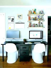 home office double desk. Office Desk For Two People Person Home Double Architecture