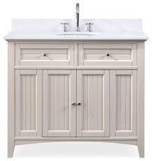 42 Thomasville Farmhouse Taupe Bathroom Vanity Transitional Bathroom Vanities And Sink Consoles By Chans Furniture Houzz