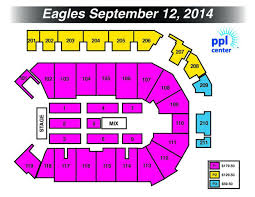Ppl Arena Allentown Seating Chart How Much Will It Cost To See The Eagles In Allentown