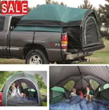 Details about Pickup Truck Tent For Ford Chevy GMC Dodge Ram F-150 Tundra Silverado Bed Canopy
