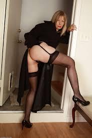 Matures in black stockings