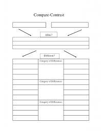 paper compare contrast essay graphic organizer compare contrast   paper compare and contrast essay sample paper mla essay format compare contrast essay