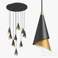 3d модели: <b>Люстры</b> - <b>757090 Cone Lightstar</b>