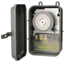 woods 40 amp 120 volt spst 24 hour outdoor mechanical time switch