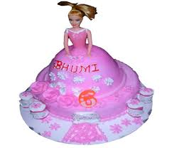 Cgc1213 Barbie Doll Cake At Rs 2195 Piece Cream Cake Id