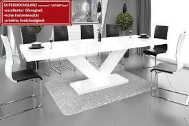 Design Esstisch He 999 Weiß Hochglanz Ausziehbar 160 208 256 Cm