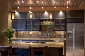 image of stunning kitchen lighting
