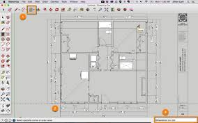 sketchup tutorial draw plan from pdf 09