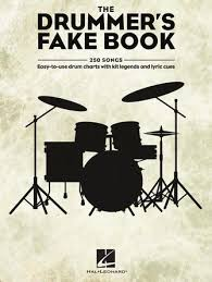 The Drummers Fake Book Easy To Use Drum Charts With Kit