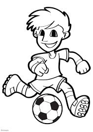 Kleurplaat Voetbal Afb 26040 Images