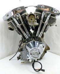 shovelhead engine oem harley davidson 1981 flt tour glide 1340 shovelhead motor complete w carb
