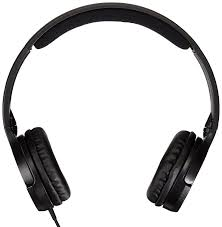 Zip Up Headphones Amazoncom Amazonbasics Lightweight On Ear Headphones Black