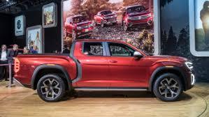 Volkswagen reveals Atlas Tanoak pickup truck concept - Autoblog