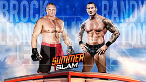 wwe summerslam 2016 match card replica by lstareditions