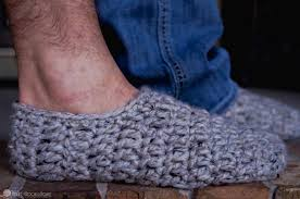Mens Crochet Slippers Pattern