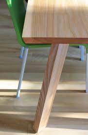Holzgespür Esstisch Massivholz Ulme Rüster Esstisch Mia