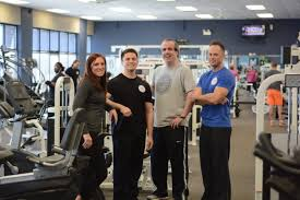 shane herman co owner and fitness director steve arch co owner jay kimball front desk manager