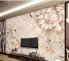 Small Picture Aliexpresscom Buy wallpaper 3d flower Marble Flower wallpaper