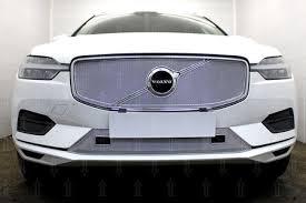 Защита радиатора <b>Optimal</b> Volvo XC60 (2018-2019) № - купить по ...