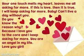 Letter To Your Girlfriend Cute Love Letters Notes To Your Girlfriend Leave With Flowers Letter