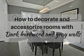 how to decorate a room with dark grey walls