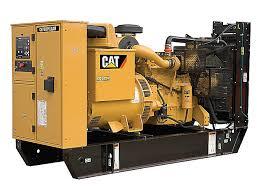 Prime Power Diesel Generator Set rated 275kVA 220kW Caterpillar