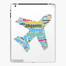 Enter the international phonetic alphabet. Plane Phonetic Alphabet Alpha To Zulu And Everything In Between Ipad Case Skin By Hdh3358 Redbubble