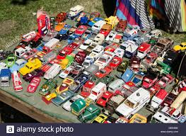 toy cars and trucks. Toy Cars And Trucks For Sale On A Stall At The Meadows Festival In Edinburgh. N