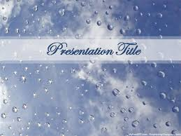 Save Water Powerpoint Template Download Free Powerpoint Ppt