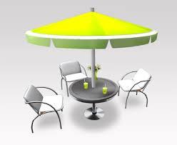 V modern furniture Vmodernfurniture Modern Outdoor Cafe Furniture Set Riverside Cafe Table Chairs V02 Copymodify Riverbend Home Second Life Marketplace Modern Outdoor Cafe Furniture Set