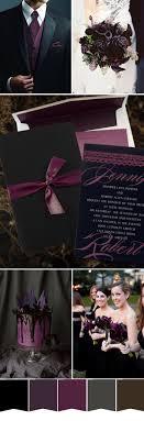 Black And Purple Invitations Five Most Popular Purple Wedding Color Ideas And Wedding