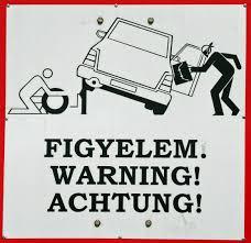 Hier Sollte Man Sein Auto Nicht Ohne Aufsicht Lassen Foto Bild