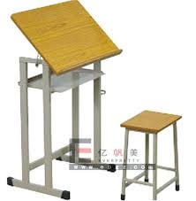 wooden drawing table height adjule wooden art table for school art training table art classroom table wooden drawing table