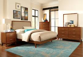 Mid Century Modern Bedroom Furniture Mid Century Bed Pin It Quick View Chandler Upholstered Platform