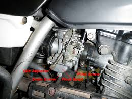 kawasaki klr250 klr 250 carburetor picture photo