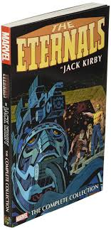 The marvel omnibus hardbound format is something to behold in itself. Amazon Com Eternals By Jack Kirby The Complete Collection 9781302922009 Kirby Jack Books