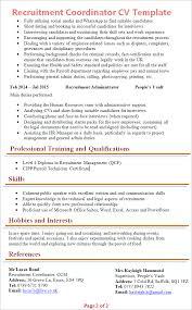 recruitment-coordinator-cv-template-2