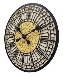 Big Ben Indoor Outdoor Garden Wall Clock - Fully Weather Resistant 30  centimetre: Amazon.co.uk: Kitchen & Home