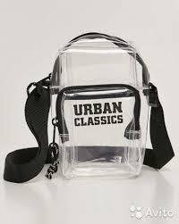 <b>Сумка</b> кросс-боди <b>Urban Classics</b> Transparent Crossb купить в ...