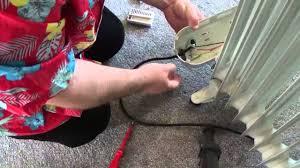 Heater Fixer Repairing Oil Filled Radiator Goop Youtube
