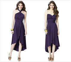 infinity dress styles. twist wrap dress aka convertible dress! change the to look. available in cocktail length, full or mullet skirt your bridesmaid infinity styles