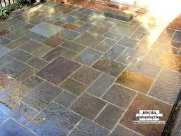 diy flagstone patio over concrete. flagstone patio on a concrete base: diy over