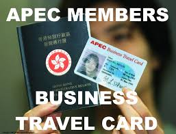 Apec Business Travel Card For Simplified Immigration Procedures At