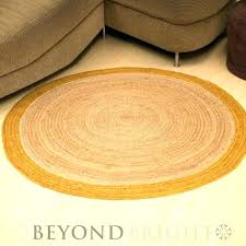 Round Sisal Rugs Jute Rug 8 Large Size Of Shed