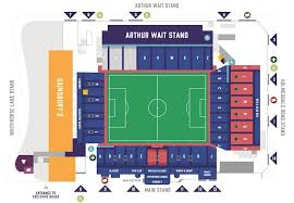 Uk Football Seating Chart Football League Ground Guide Crystal Palace Fc Selhurst Park