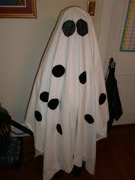 ghost costumes sheet charlie brown ghost costume